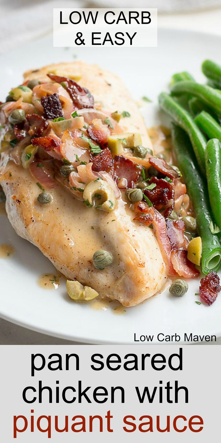 Pan-Seared Chicken With Tarragon Butter Sauce Recipe ...