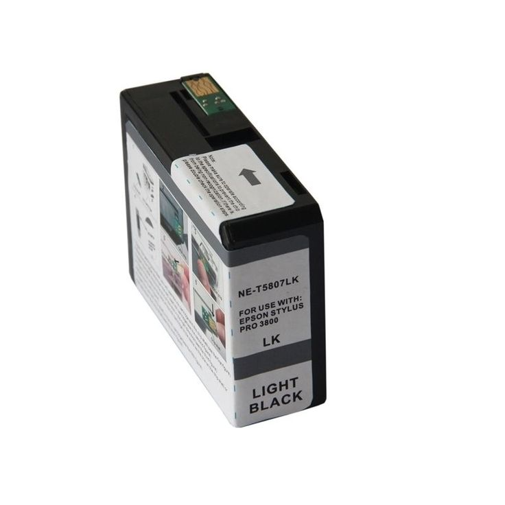 Insten Remanufactured Ink Cartridge for Epson T5807LBk, #1319711
