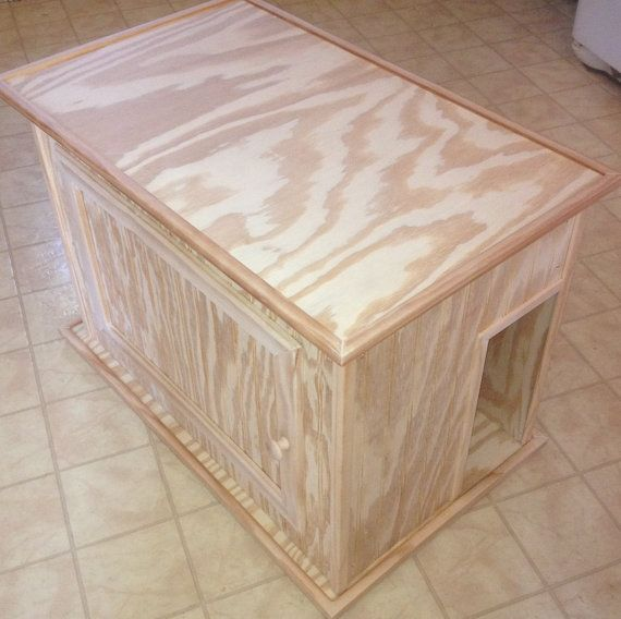 0 Shipping  New Large Kat Litter Kabinet  100% by kippyskreations