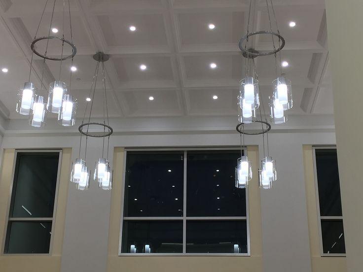 Homestead City Hall   Custom Chandeliers · Commercial Lighting FixturesHomesteadTransportationChandeliersHallChandelier  ...