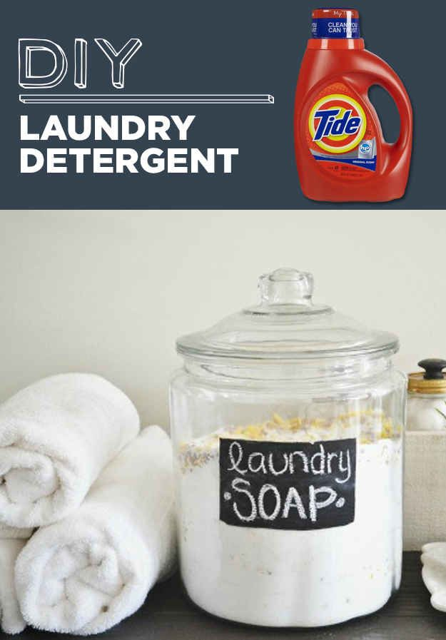 DIY Laundry Detergent   31 Household Products You'll Never Have To Buy Again