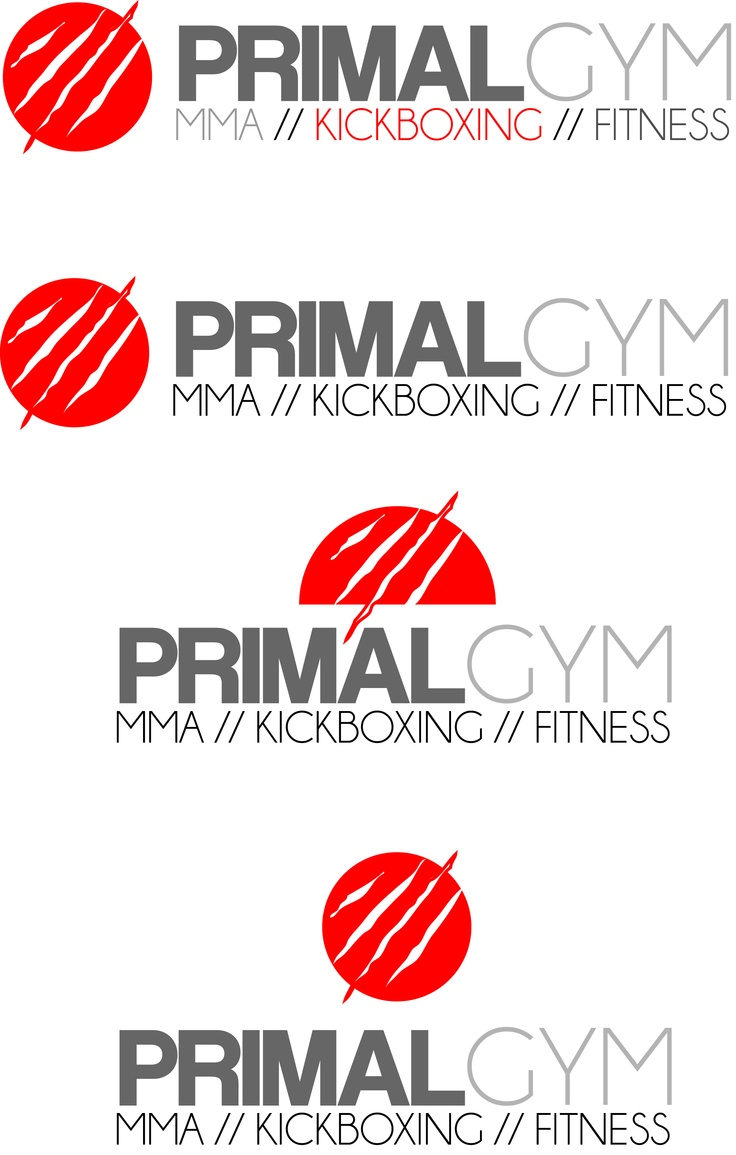 Primal gym logo designs Fitness branding, Logo design