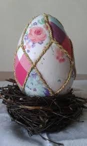 Znalezione obrazy dla zapytania jajka styropianowe na wielkanoc