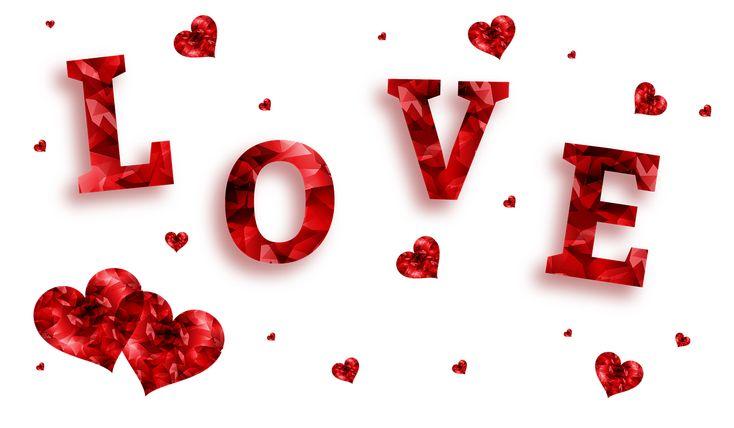 Amor, Corazones, Bandera, Corazón, Rojo