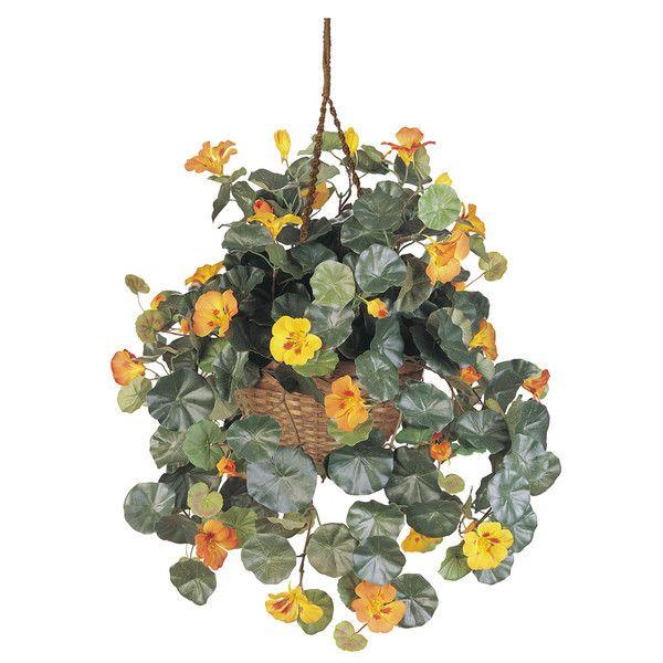 Faux Nasturtium Artificial plants decor, Artificial