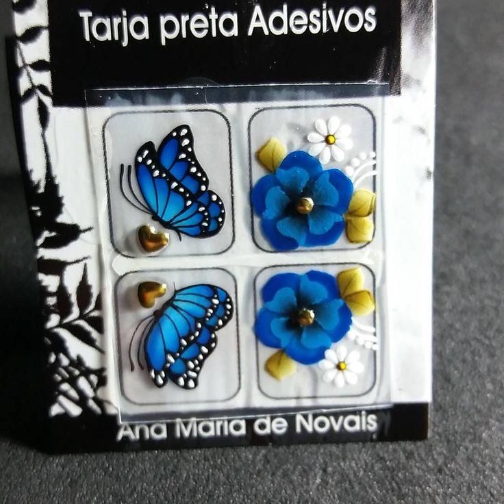"""118 Likes, 2 Comments - Ana Maria de Novais (@amnadesivos) on Instagram: """"Azul da cor do céu """""""