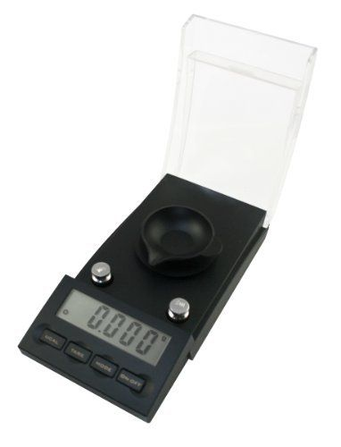 American Weigh GPR-20 Gemini-PRO Digital Milligram Scale, 20 by 0.001 G by American Weigh. $50.45. Backed by a powerful 10 year warranty. Powered by 4 AAA batteries (included). Comes with protective case, tweezers, (2) 10g weights and 2 weighing trays. Weighs up to 20 grams in 0.001 gram increments. The flip-down shield protects the delicate weighing surface. The all new GeminiPRO milligram scale offers a 1 milligram readability with a 20g capacity. The removable weighing pla...