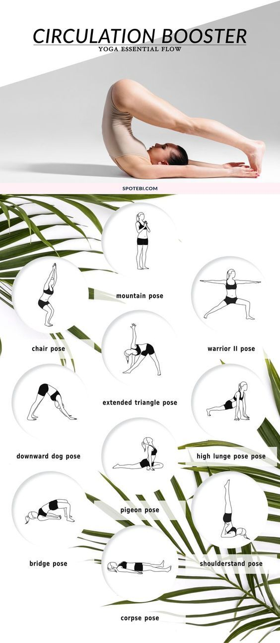 DownDog Yoga Poses for Fun & Fitness: Yoga Essential Flow Circulation Booster