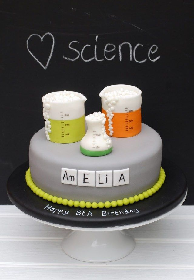 30 Kreatives Foto Des Wissenschafts Geburtstags Kuchens Geburtstag Kuchen Geburtstagskuchen Kinder Kuchen Ideen