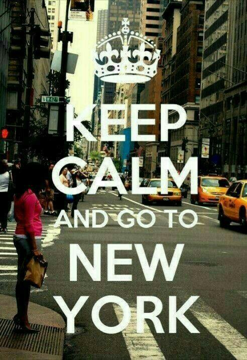 Upokoj sa a chod do NY