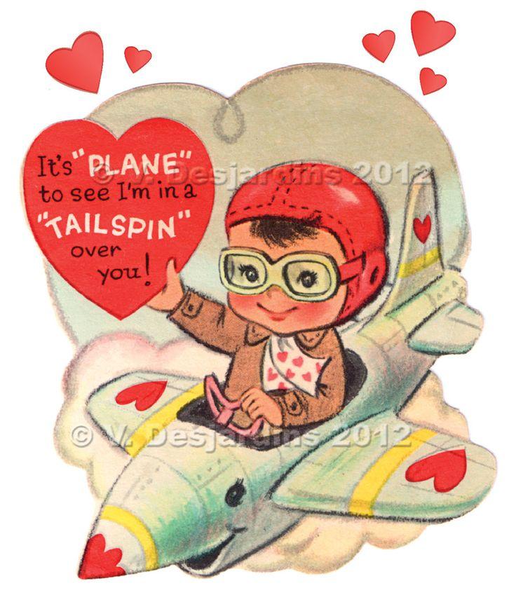 33 best Cards Vintage Masculine Valentine Love images on