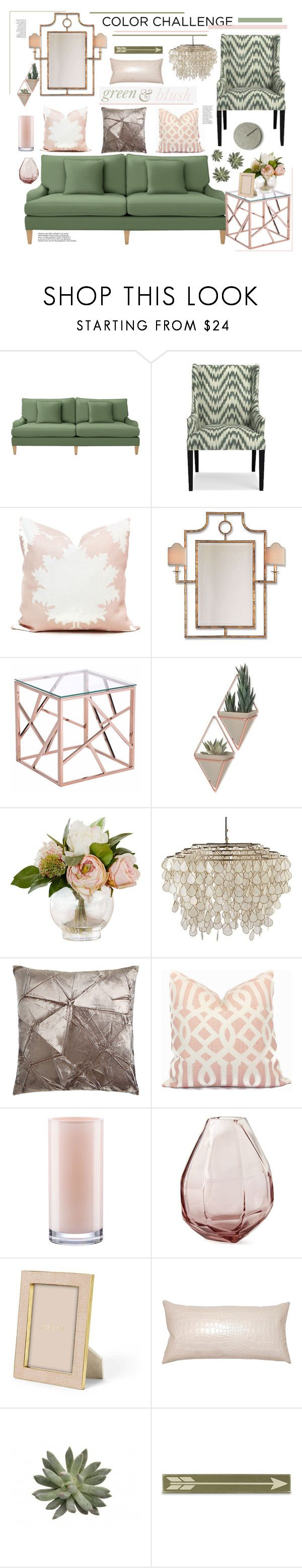 """""""Earthy, Pretty."""" by sierrrrrra ❤ liked on Polyvore featuring interior, interiors, interior design, home, home decor, interior decorating, Serena & Lily, Williams-Sonoma, Port 68 and Zuo"""