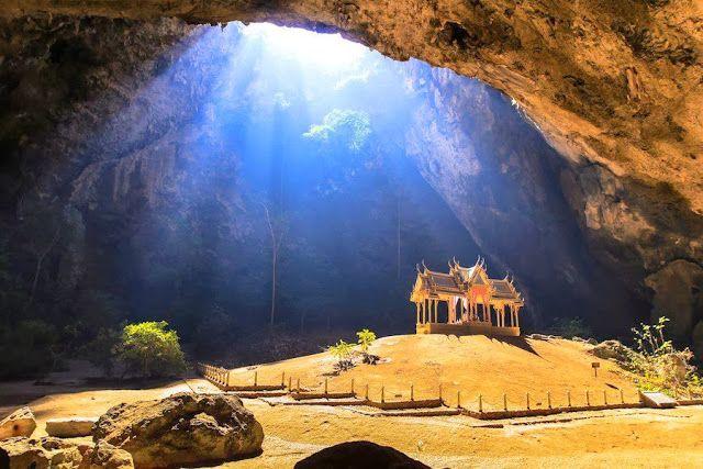 Cavernas Phraya Nakhon - Parque Nacional Sam Roi Yot - Tailândia