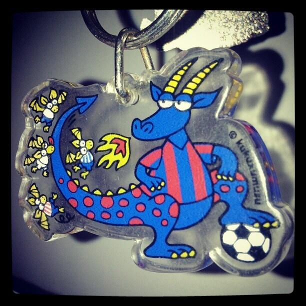 #Barcelona #Barca #RealMadrid #AtleticoMadrid #Football #Calcio #LaLiga #Spanish #Spanishfootball #footballkeyring #kukuxumusu
