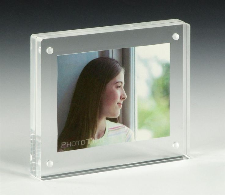 Acrylic Box Picture Frames : Unique magnetic picture frames ideas on
