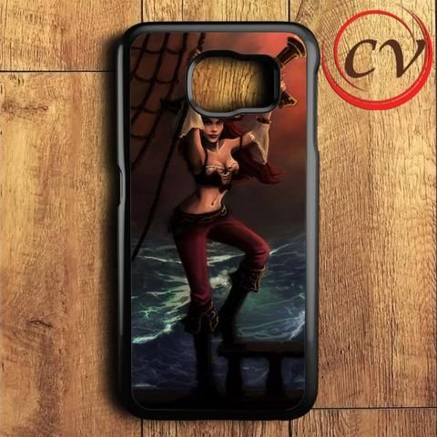 Sexy Girl Miss Fortune League Of Legend Samsung Galaxy S7 Case