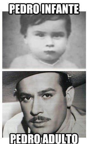 Pedro infante/Pedro adulto