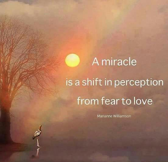 A miracle is... More