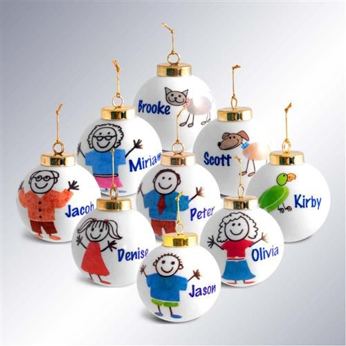 1000 images about christmas ornaments on pinterest for Custom christmas tree ornaments
