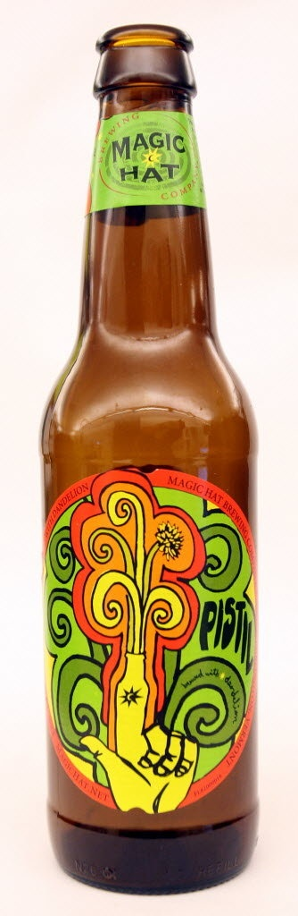 Magic Hat Pistil:  My favorite beer sampled on vacation at Magic Hat Brewery!
