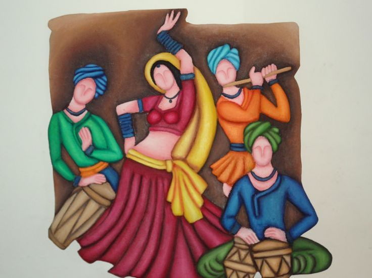 3d murals rajasthani - Google Search wooden murals