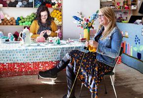 Workshop bloemen breien - Club Geluk– Knit & Knot