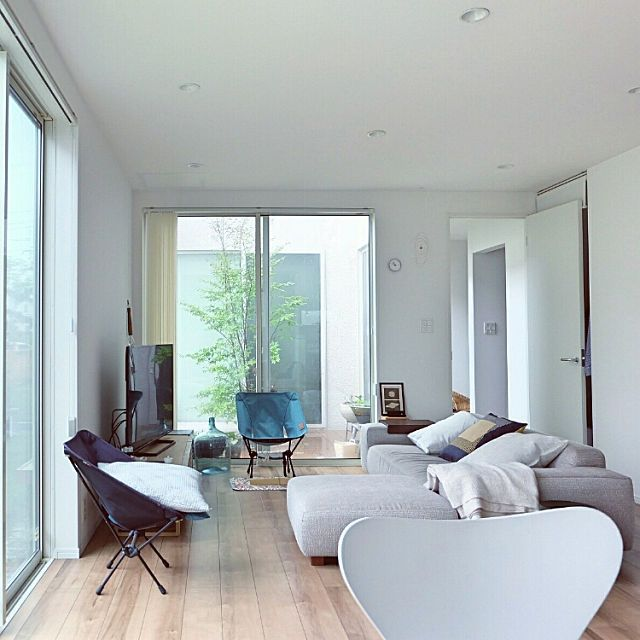 リビング セブンチェア 北欧 シンプル 注文住宅 などのインテリア実例 2017 08 15 11 06 41 Roomclip ルームクリップ インテリア 模様替え インテリアアイデア