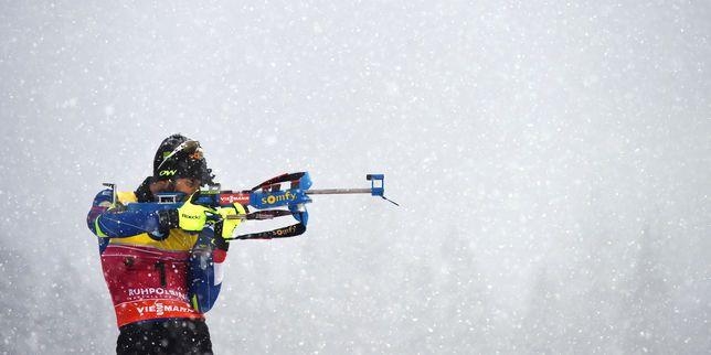 Biathlon : la France sacrée championne du monde du relais mixte