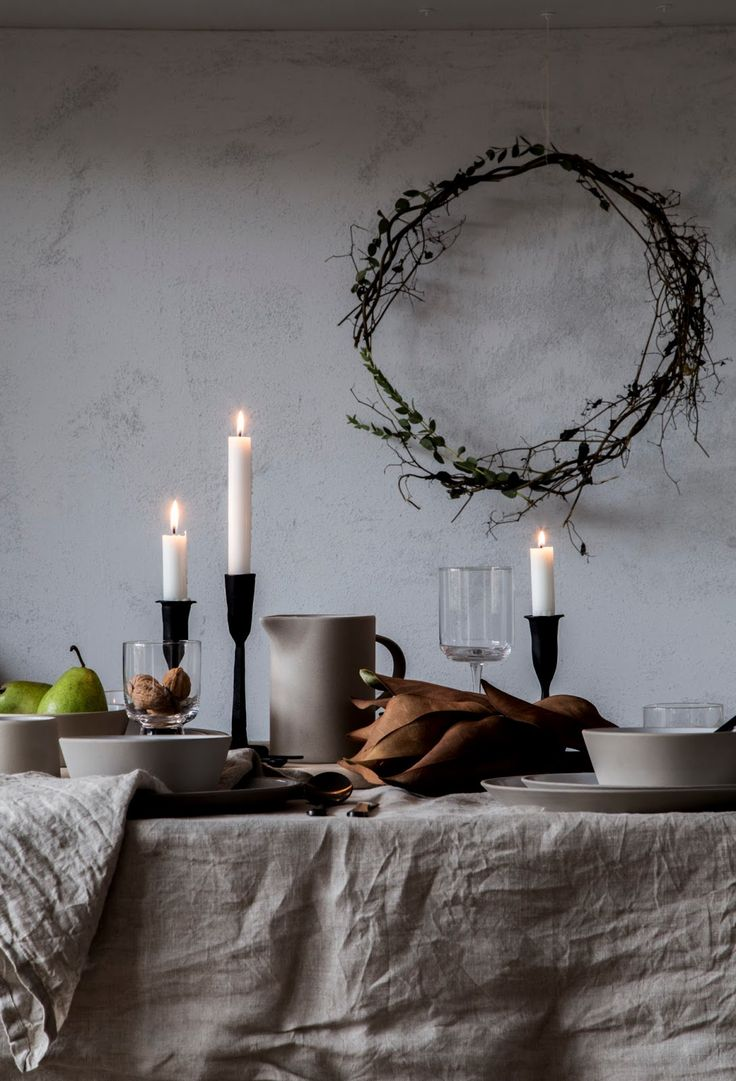 my scandinavian home: Feeling the Hygge: My Holiday Table Setting