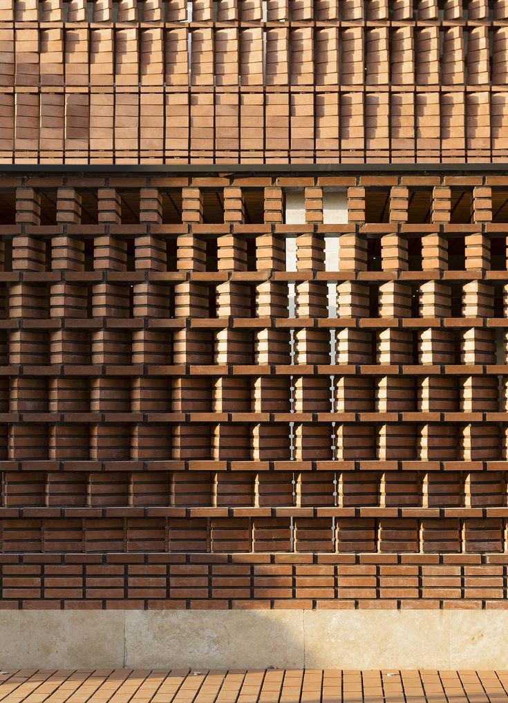 310 best perforated brick screen wall images on for Perforated brick wall