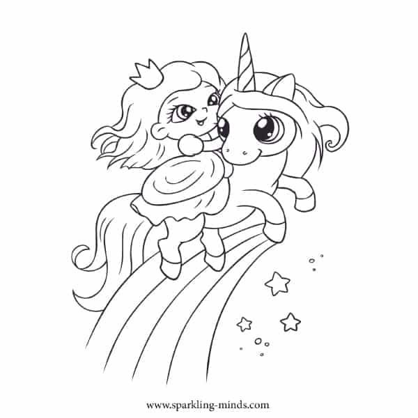 Just Coloring Sparkling Minds Unicorn Coloring Pages Cute Coloring Pages Coloring Pages For Kids