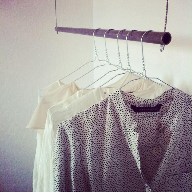 DIY : Klädstång   Decorate me up. @ Spotlife