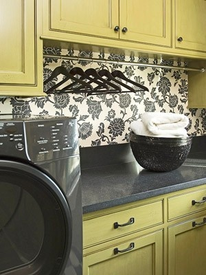 favorite places and spaces Laundry rooms should be pretty!
