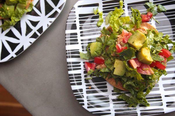 Chicken Tostada Salad // shutterbean | eat this! dinner: a love story ...
