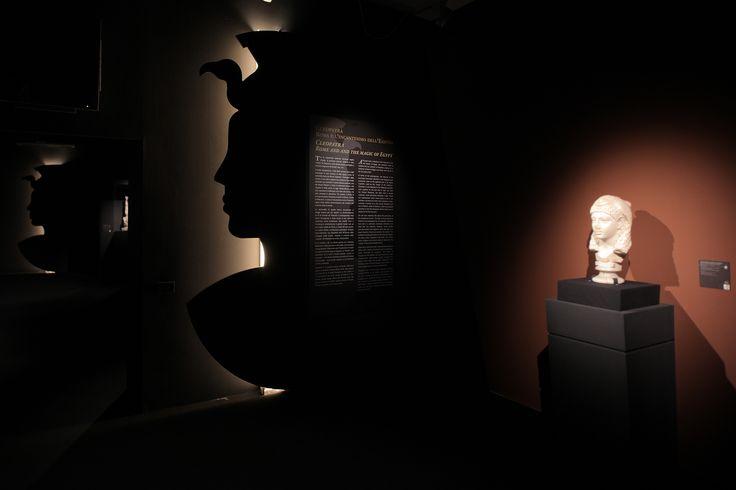 #Cleopatra VII, ultima regina d'Egitto, è la protagonista indiscussa di un'esposizione unica @ChiostrodelBramante, Roma fino al 2 febbraio 2014