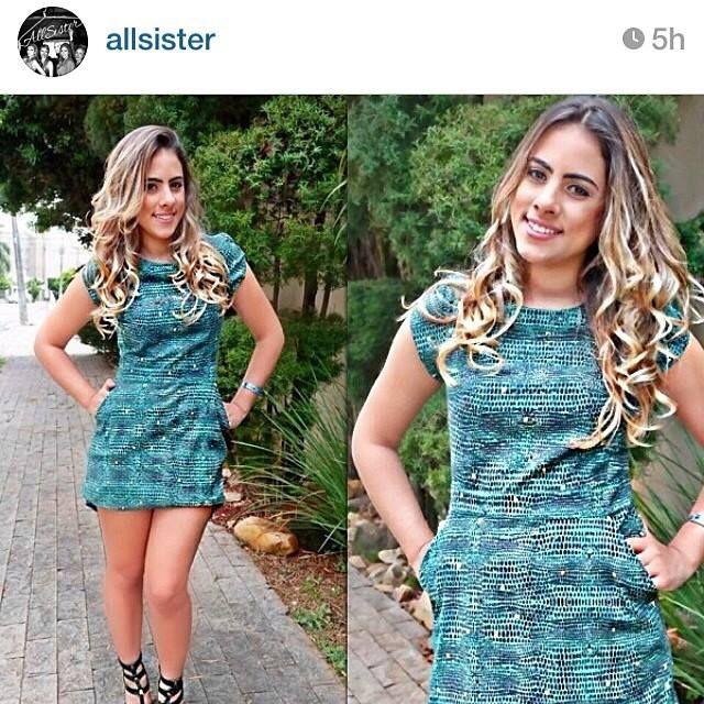 Look of the day da linda @allsister by Nanda Machado! Arrasou!!! #welove#allsister#nandamachado#winter#aquitem