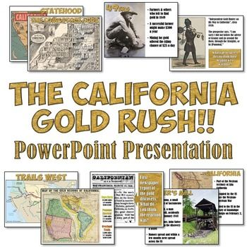 a history of the california gold rush in the united states Timeline of history, price, and economics (1579 - 2008) of events in a timeline starting from the beginning of the formation of the united states economy more gold mining techniques information mining & economic development in gold rush california, james j rawls.