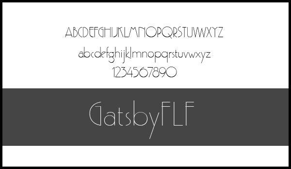 Massive Collection of Elegant Thin Fonts   Webdesigner Depot