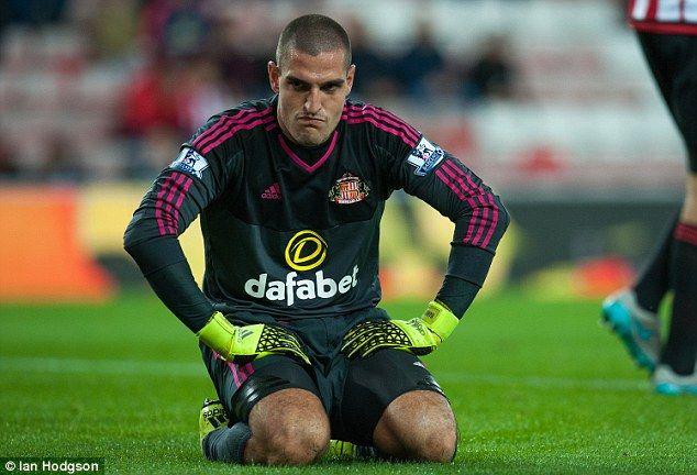 Vito Mannone thanks Sam Allardyce for Sunderland success... hours after Ellis Short failed to mention him in statement