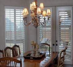 traditional dining room with jalousie windows - Google Search