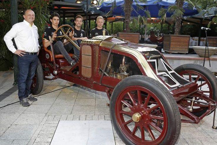 RENAULT 1906 Type AK Grand Prix car at F1  HUNGARY GRAND PRIX 2016