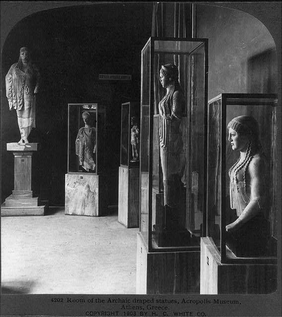 Μουσείο Ακρόπολης - 1903