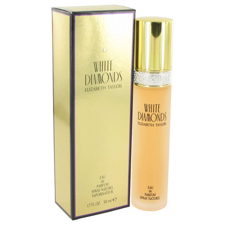 White Diamonds Perfume by Elizabeth Taylor 1.7 oz Eau De Parfum Spray Celebrity #ElizabethTaylor