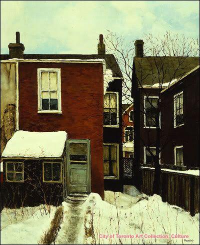 Toronto In Art - Albert Jacques Franck 1967