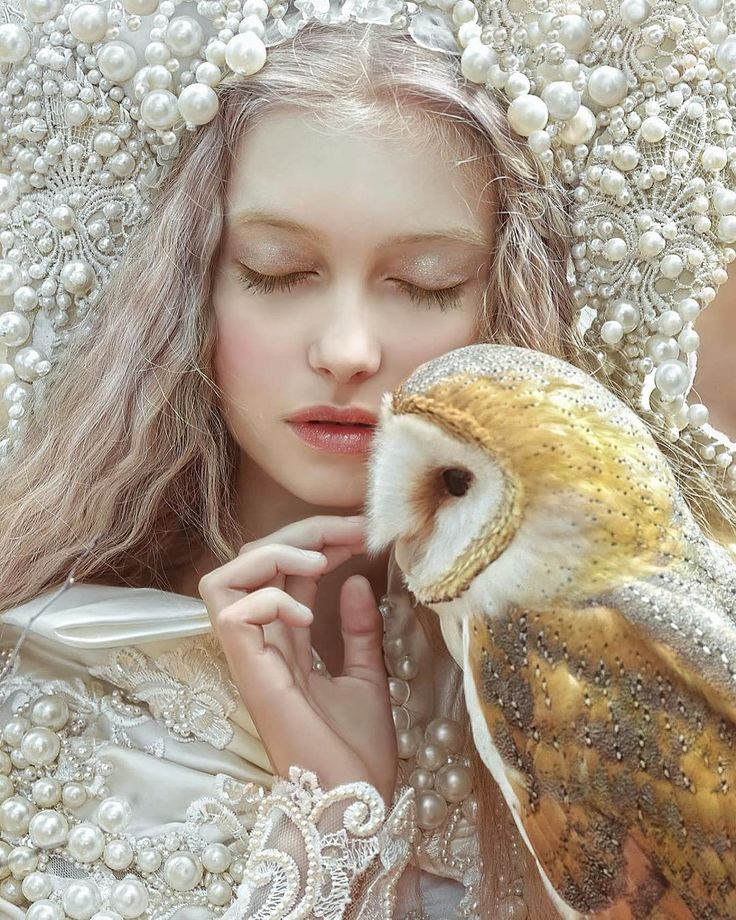 """7,708 Likes, 89 Comments - A.M Lorek Photography (@agnieszka_lorek) on Instagram: """"My fantasy portrait •love to Nature• with @olaszkolda model❤️ & owl in costume from @agnieszkaosipa…"""""""