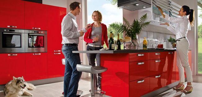 Kitchen equipment by Häcker embodies new living and living - häcker küchen frankfurt