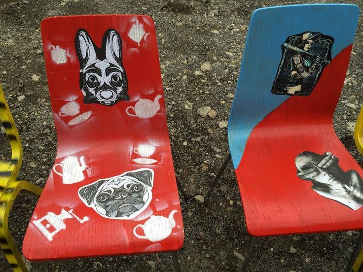 Régi szék...új szék