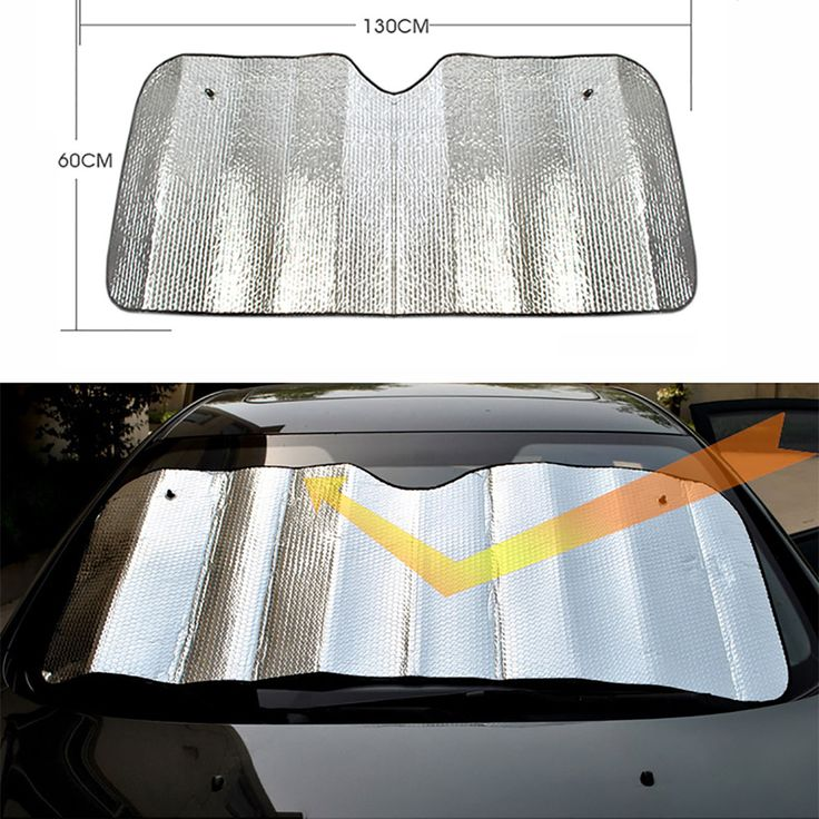 1PCS Practical Foam Tapetum Lucidum Screen Sunshade Sun Cover Car Protector foldable Free Shipping