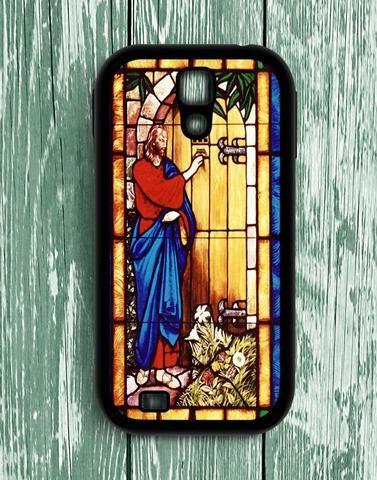 Jesus Christ Knocking At The Door Samsung Galaxy S4 Case