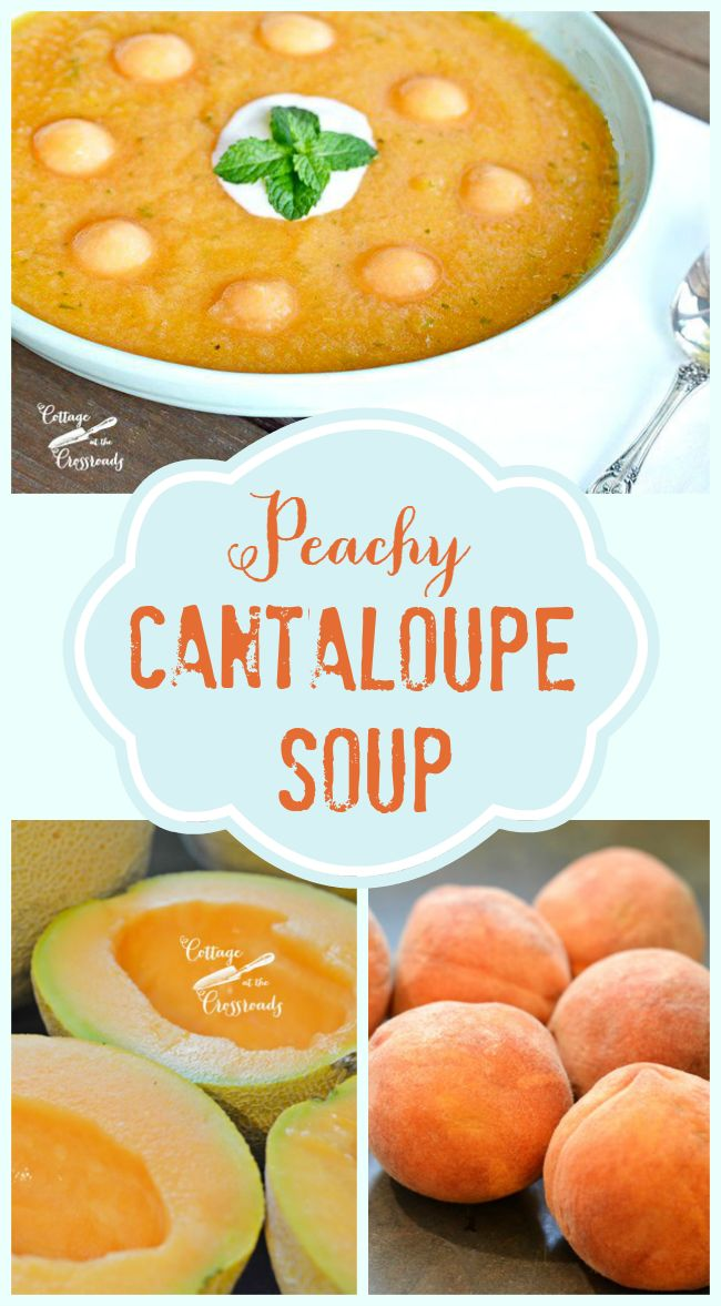 This refreshing, chilled soup captures the best of summer flavors without any cooking! It's delicious!